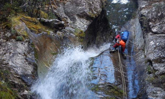Première ouverture : «William Peak Canyon»