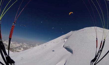 Mont Blanc – Parapente